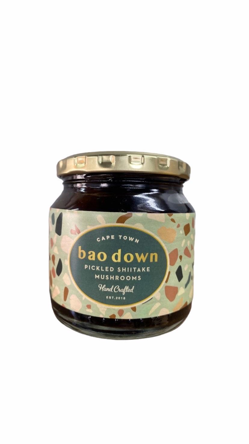 Baodown Pickled Shiitake Mushrooms