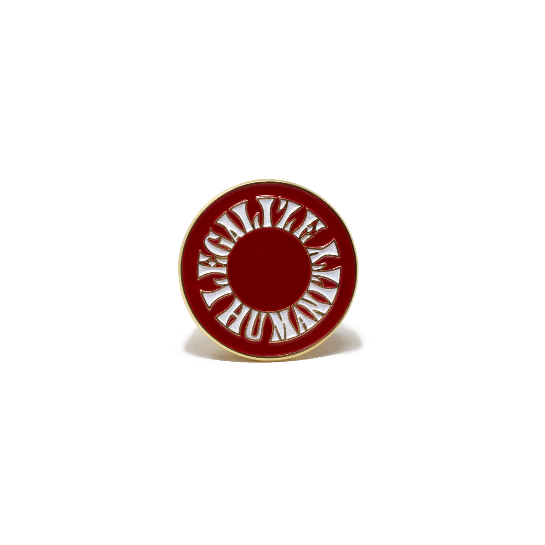 Legalize Humanity Enamel Pin