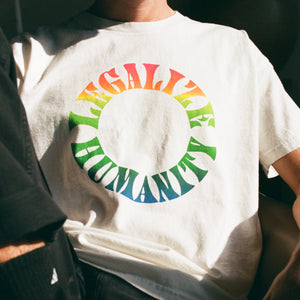 Legalize Humanity Split Fountain Tee