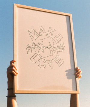Make Love Print (Sold Out)