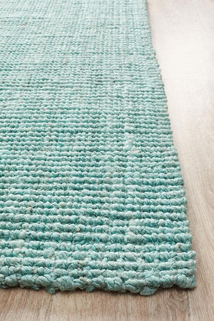 Load image into Gallery viewer, Chunky Natural Fibre Barker - Blue