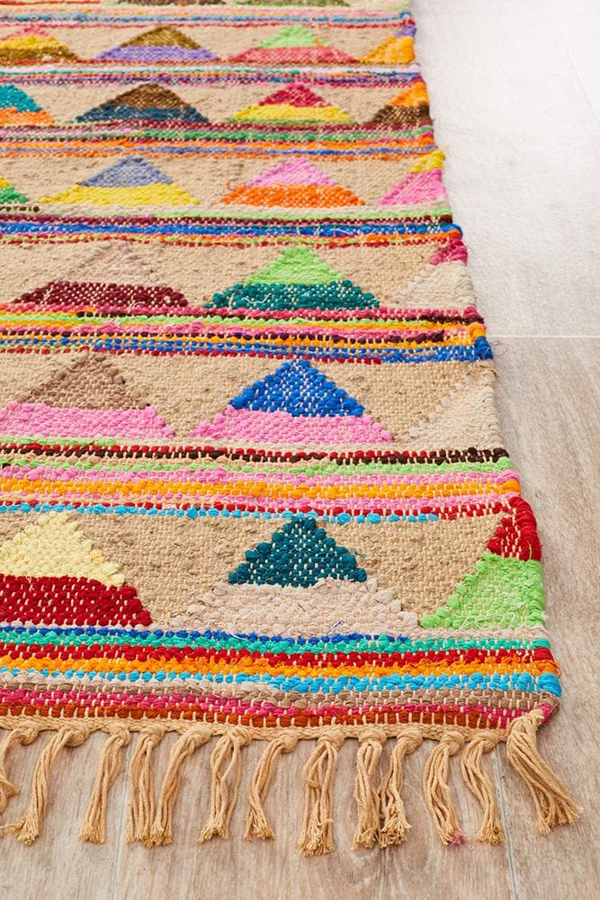 Marlo Natural Jute and Cotton - Multi