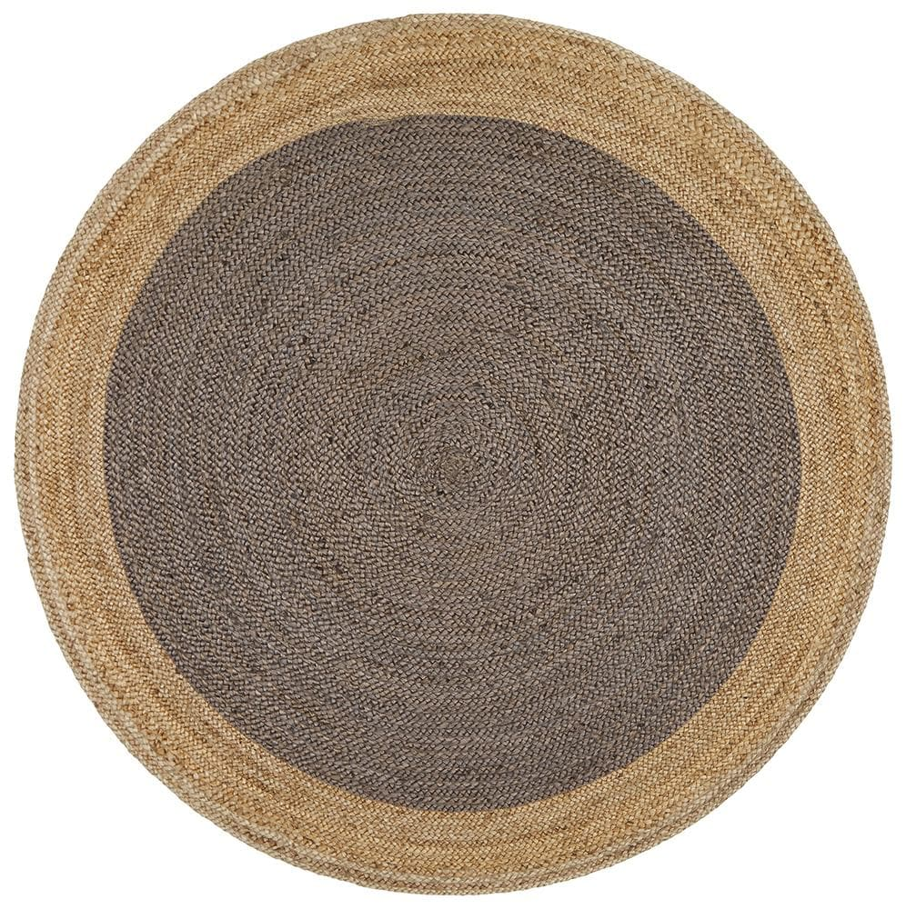Signal Jute - Natural Charcoal [Round]