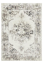 alexa transitional black and white rug full size image