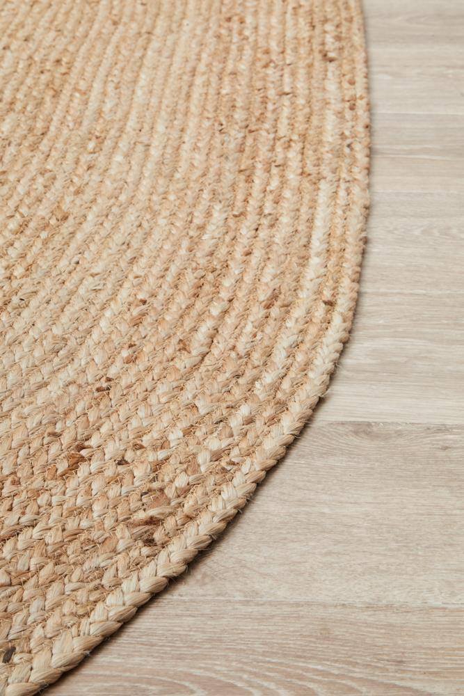 Bondi Natural Oval Rug
