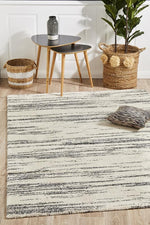 Broadway Evelyn Charcoal contemporary rug