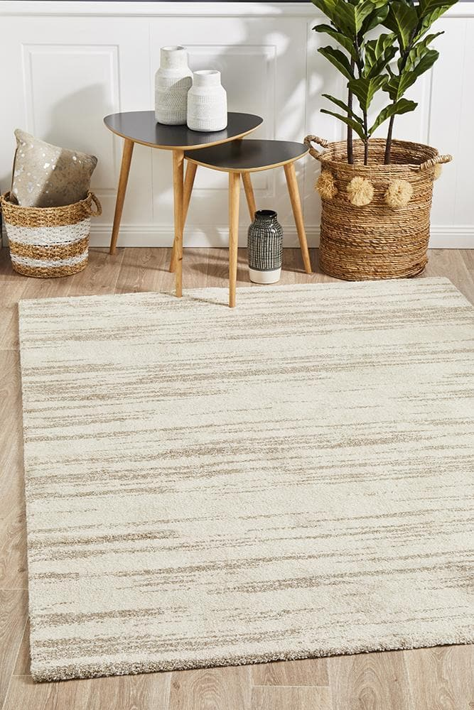 Broadway Evelyn Natural contemporary rug