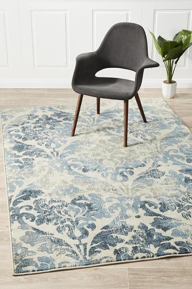 Calypso Gloria bone transitional style rug