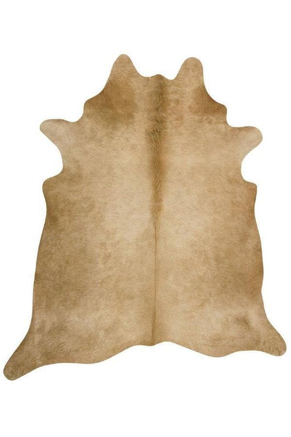 Exquisite Natural Cow Hide - Beige