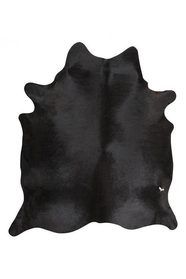 Exquisite Natural Cow Hide - Black