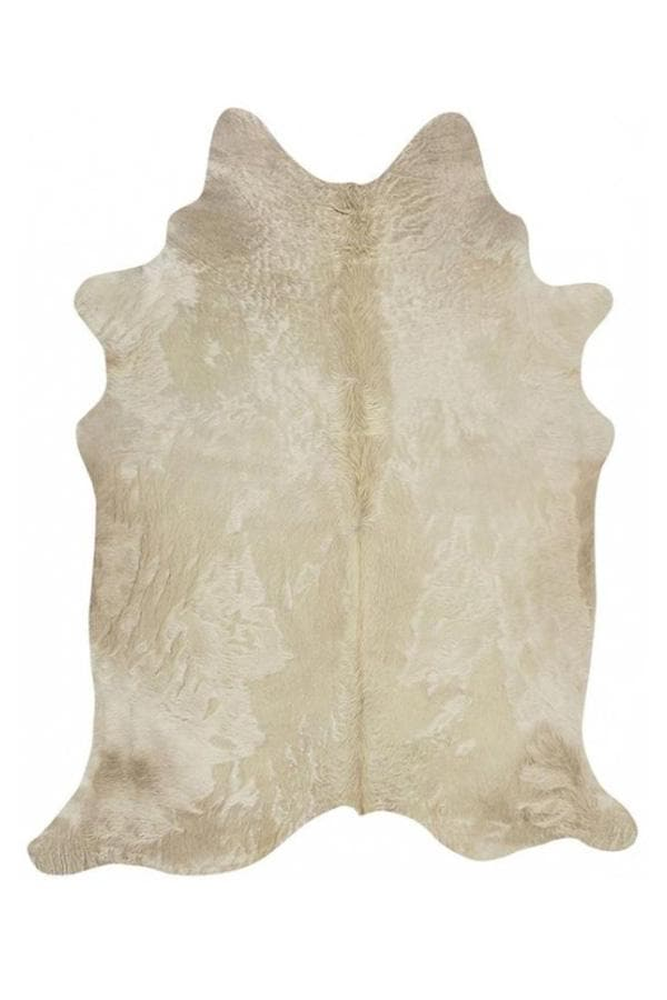 Exquisite Natural Cow Hide - Champagne