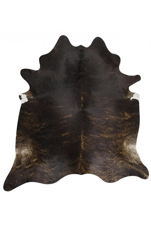 Exquisite Natural Cow Hide - Dark Brindle