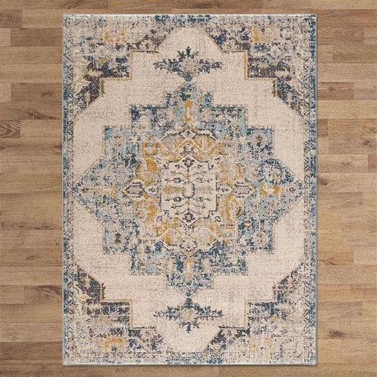 Canyon 591 cream classic transitional style rug