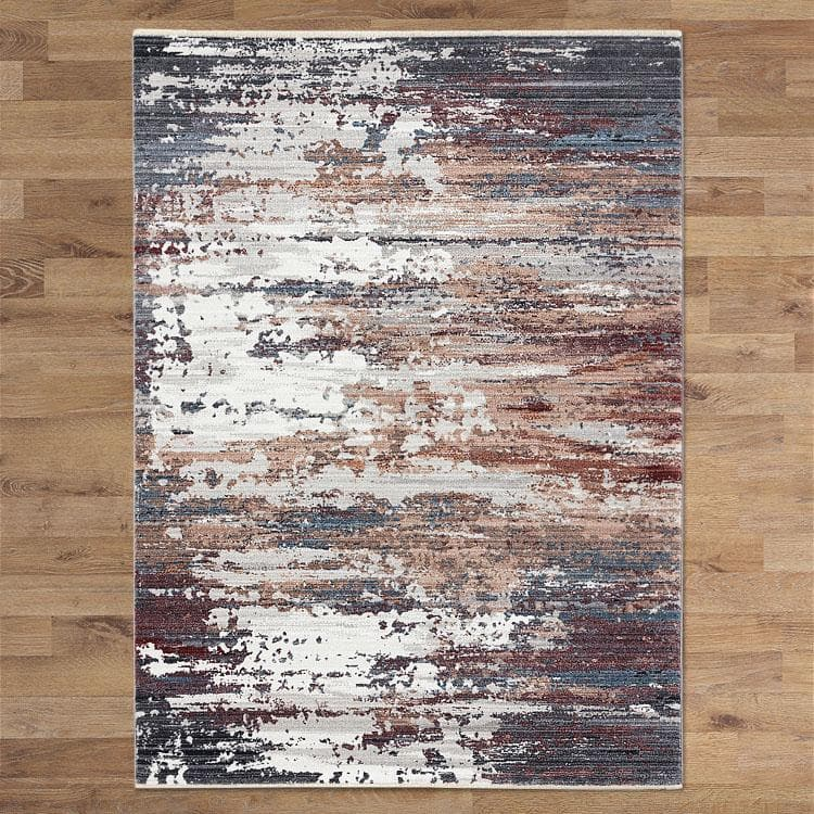 Dusk 3092 grey transitional modern rug