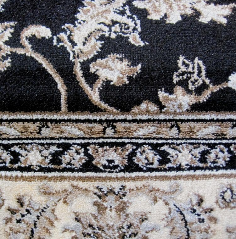 Dynasty 5937 Black Hallway Runner
