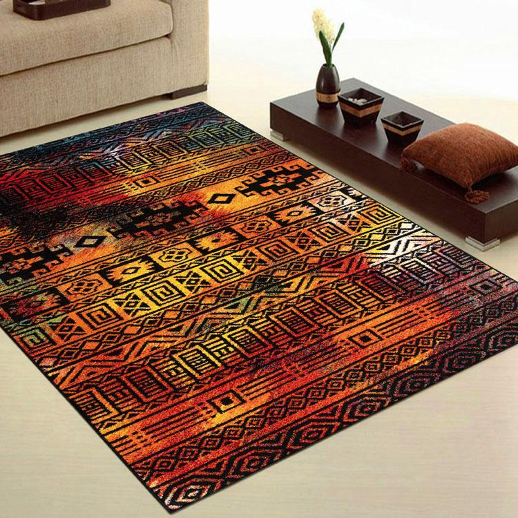 Galaxy 243 multi coloured modern rug