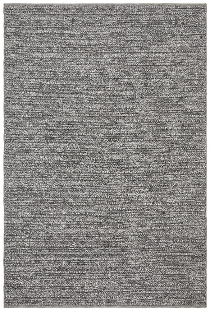 Harvest wool steel hand made rug