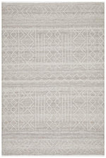 arya stitch woven natural rug folded