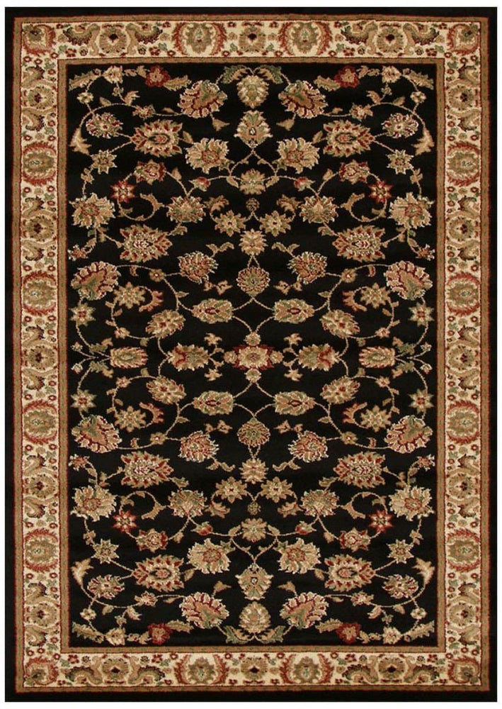 Load image into Gallery viewer, Istanbul Traditional Floral Pattern - Black