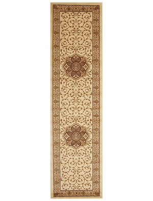 Load image into Gallery viewer, Istanbul Classic Medallion - Ivory hall runner