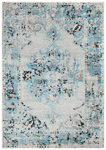 alexa transitional blue grey rug full size image