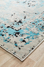 alexa transitional blue grey rug corner