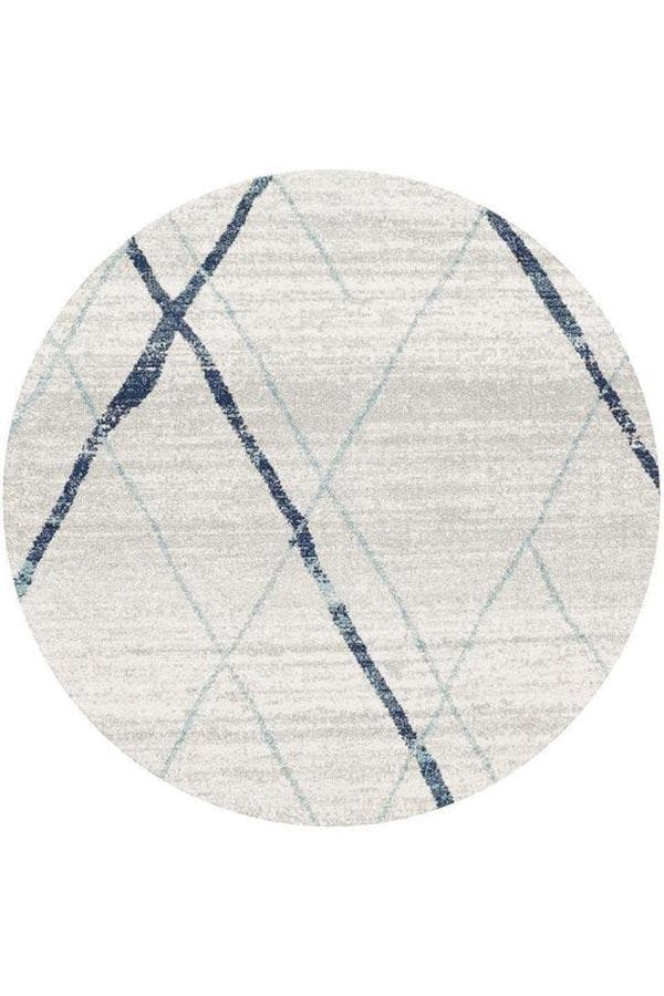 Oasis Noah Contemporary - White Blue [Round]
