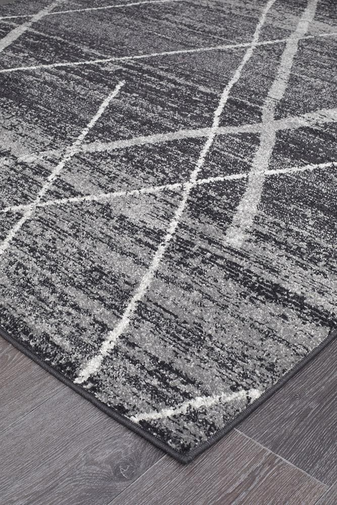 Oasis Noah Contemporary - Charcoal [Runner]