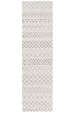 Oasis Selma Tribal - White Grey [Runner]