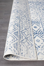 Oasis Ismail Rustic - White Blue