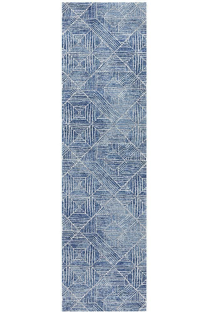 Oasis Kenza Contemporary - Navy [Runner]