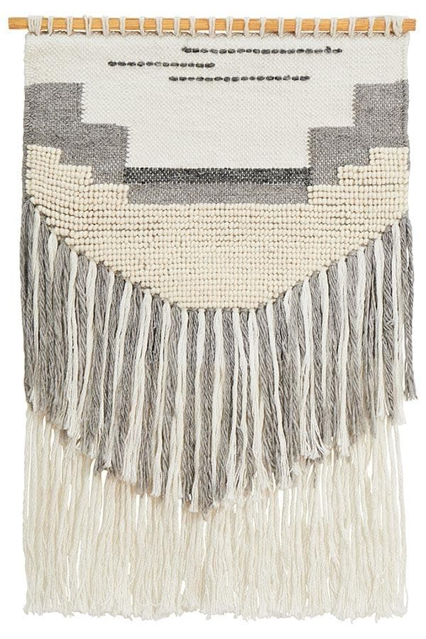 Eden Wall Hanging - Grey