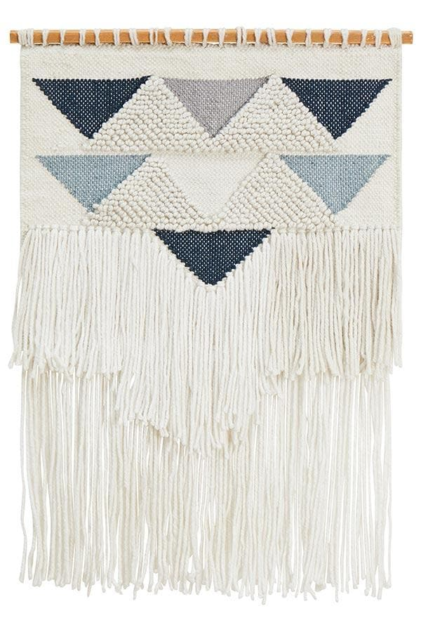 Zara Wall Hanging - Blue