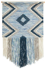 Soleil Wall Hanging - Blue