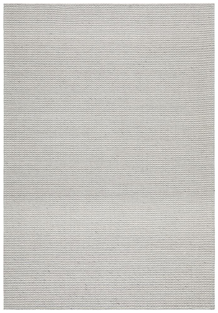 Oskar Felted Wool Striped - Grey White