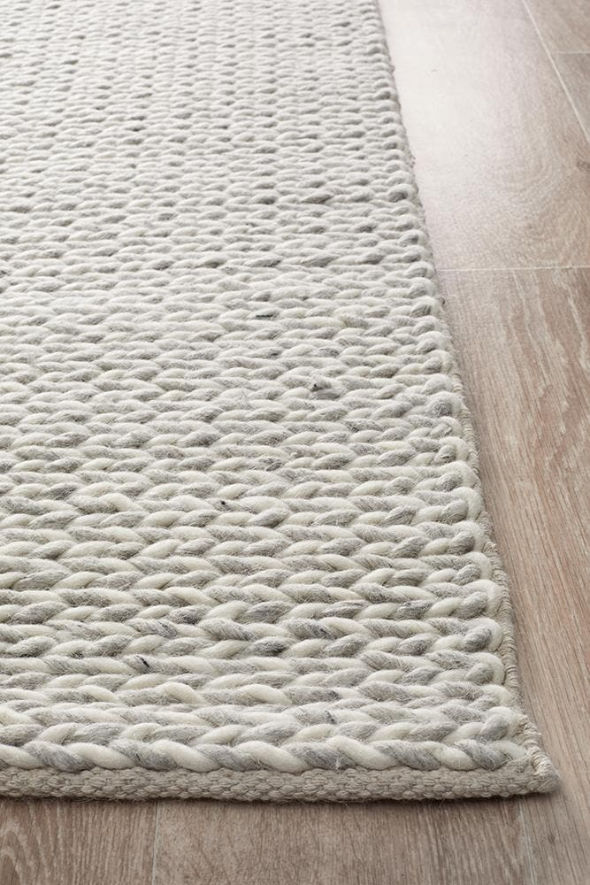 Load image into Gallery viewer, Helena Woven Wool - Grey White