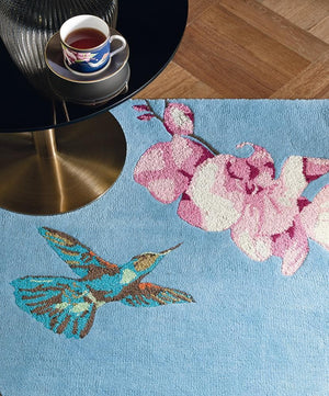 Load image into Gallery viewer, Wedgewood Hummingbird - Blue