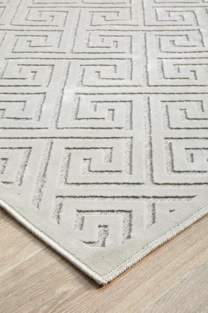 Load image into Gallery viewer, York Alice Natural White Rug