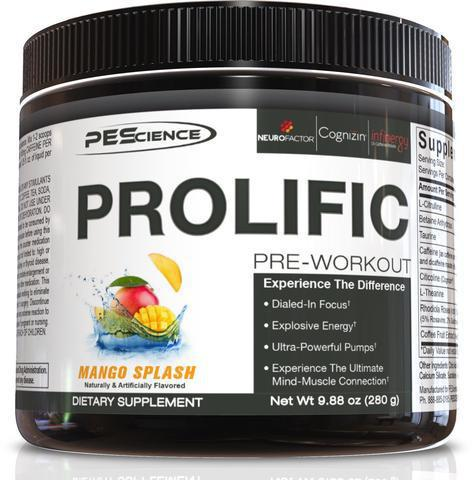 Prolific Stimulant-Based Pre-Workout 40 Scoops