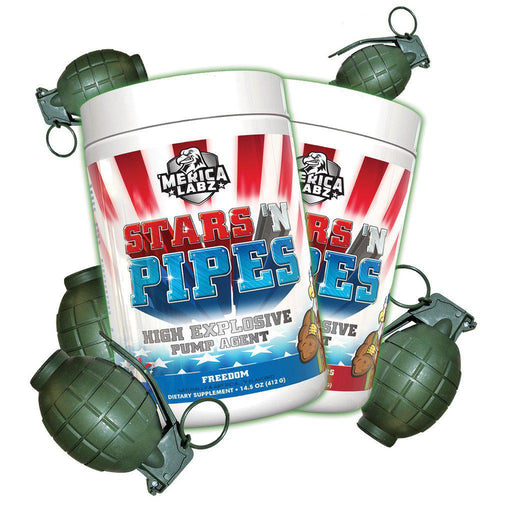 'Merica Labz Stars N' Pipes 20 Servings