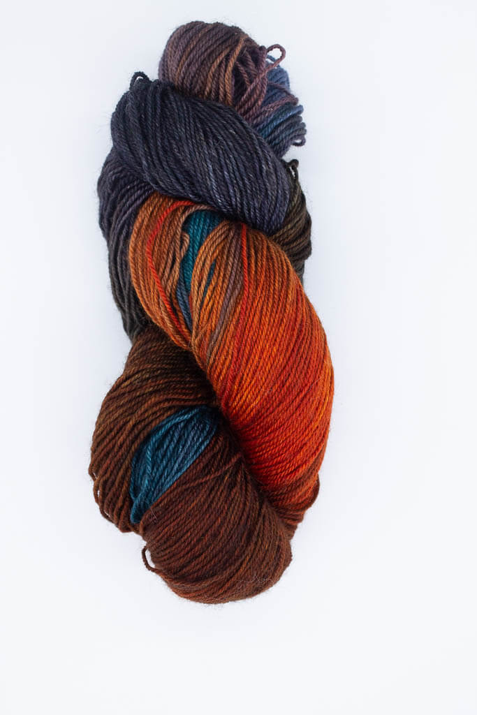 Kerr on BFL Sock Yarn