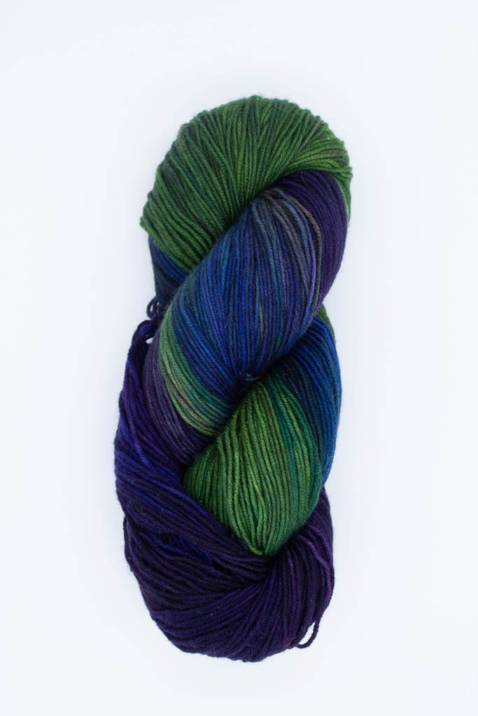 Harlow on Calypso 349 Sock Yarn