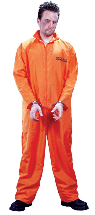 Costume de Prisonnier Orange - Homme