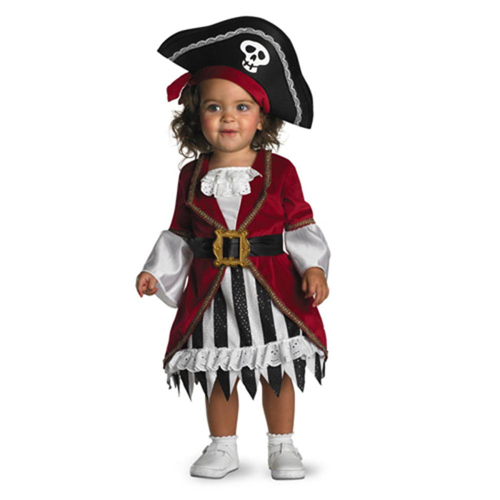Costume de princesse pirate - Fille 12-18 mois