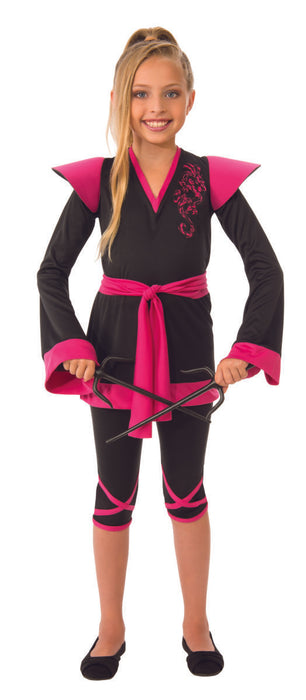 Costume de Ninja rose - Enfant