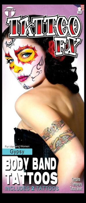 Tatouage Fx Transfers - Day of the dead 2