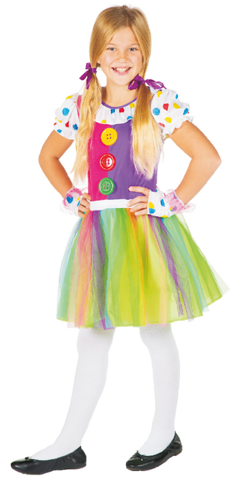 Costume de clown - Fille