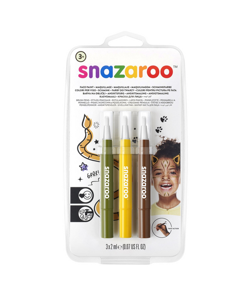 Stylos Pinceaux Snazaroo Jungle