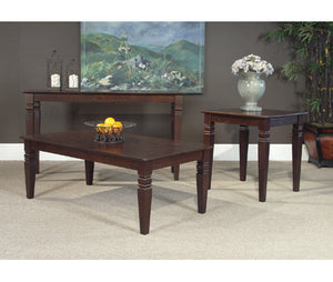 Java Rich Mocha Occasional Tables - Occasional