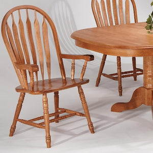 Contour Back Arm Chair - Dining